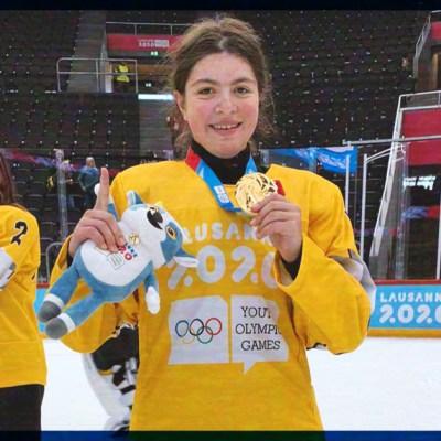 #Histórico: Ella es Luisa Wilson, la primer mexicana en ganar una medalla en Juegos Olímpicos Invernales