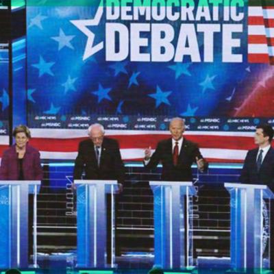 Así se vive el Debate Demócrata; todos contra Bernie Sanders por la candidatura presidencial