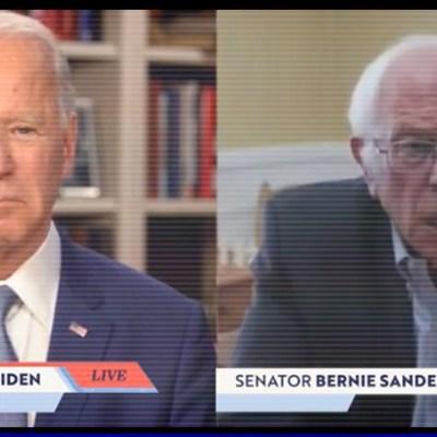 ¡Sorpresa! Bernie Sanderns anuncia que apoya a Biden para derrotar a Trump