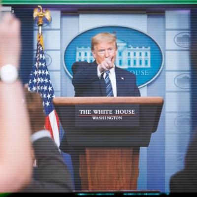 #Increíble: Trump no puede con la batalla con el COVID-19 y ahora vuelve a atacar a Irán