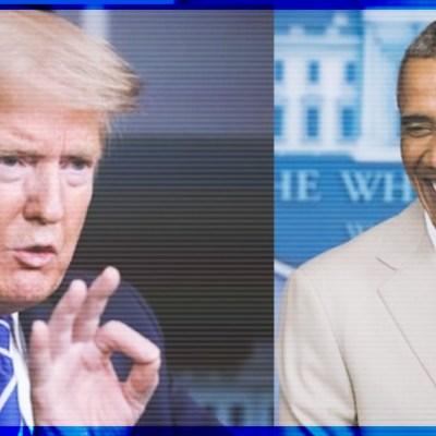 Obama arremete contra Trump por COVID-19 y este le responde con todo