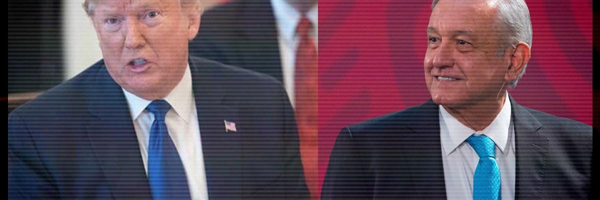 El sorprendente mensaje del presidente AMLO al  presidente Trump por el COVID-19