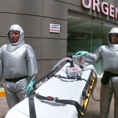 Mexicano creó traje inflable que evita el contagio de Covid-19