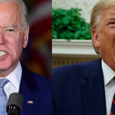 CANCELADO, el segundo debate presidencial entre Trump y Biden