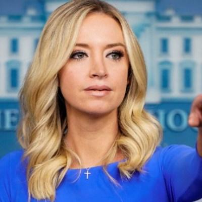 La secretaria de prensa de Trump, Kayleigh McEnany, tiene COVID-19