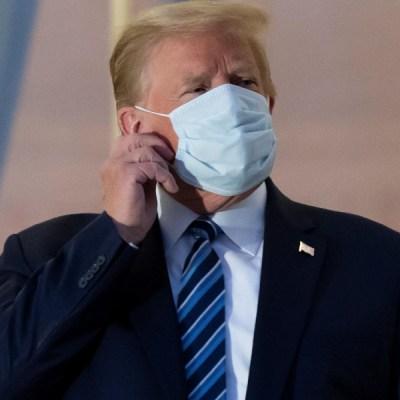 Trump afirma que ya es inmune al Covid-19
