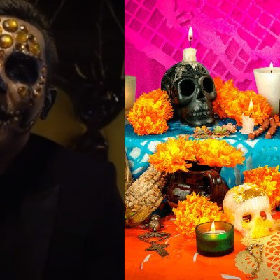 Edwin Luna y La Trakalosa de Monterrey alistan sus disfraces para este día de muertos