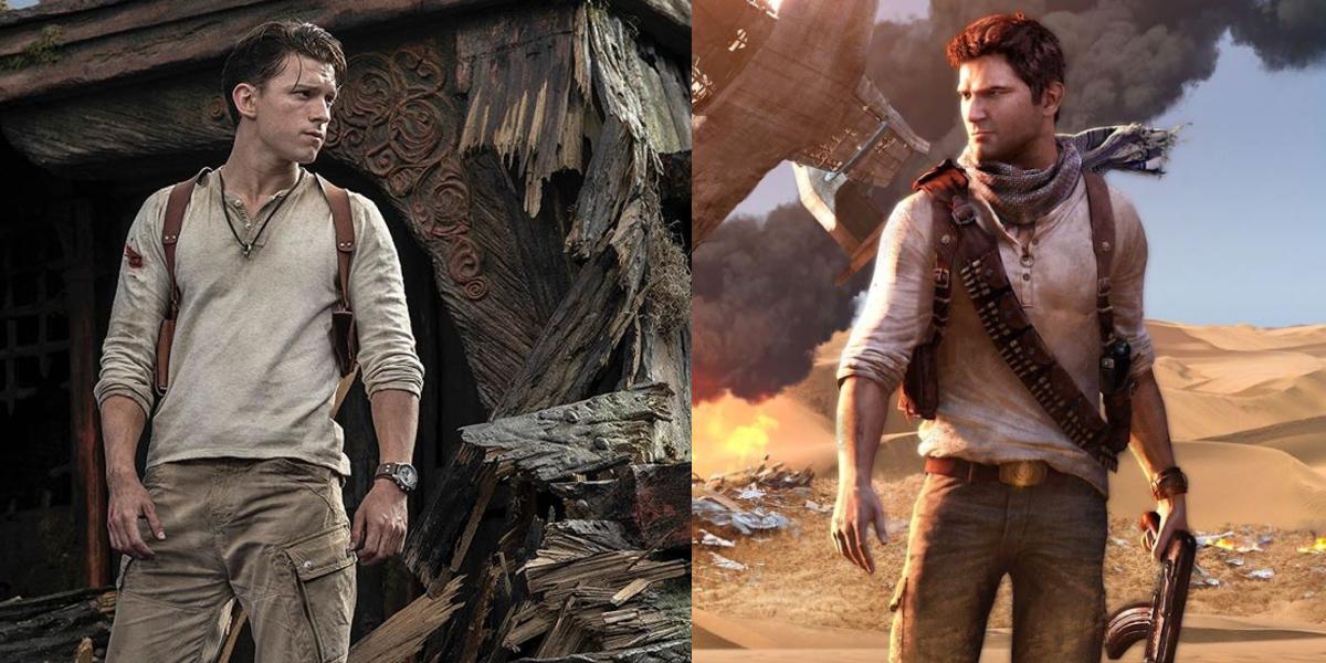 """Así se ve Tom Holland como Nathan Drake, en la adaptación a la pantalla grande del videojuego """"Uncharted"""""""