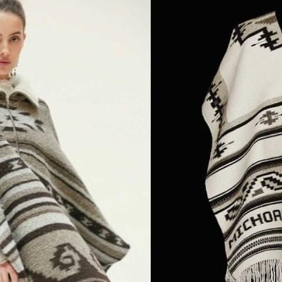 Exhiben a diseñadora francesa y la acusan de plagiar gabanes michoacanos