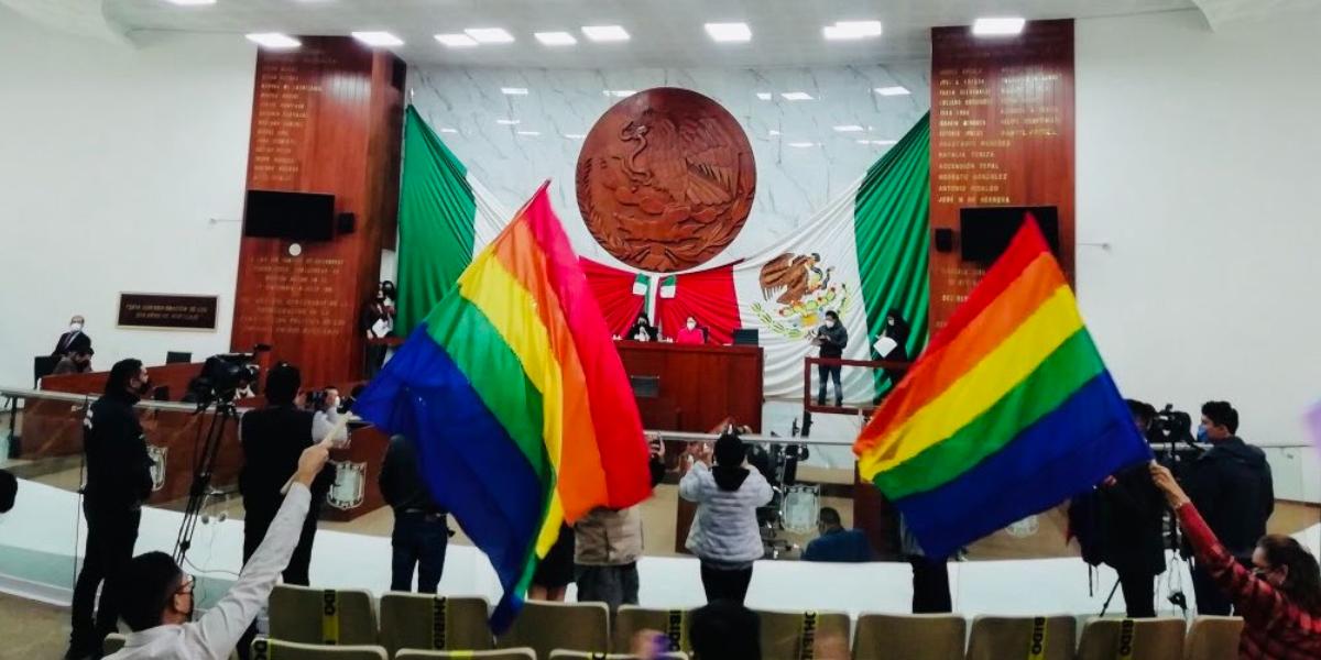 Tlaxcala aprueba el matrimonio entre personas del mismo sexo