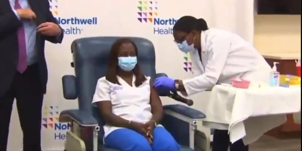 Comienza la vacunación contra el Covid-19 en Estados Unidos