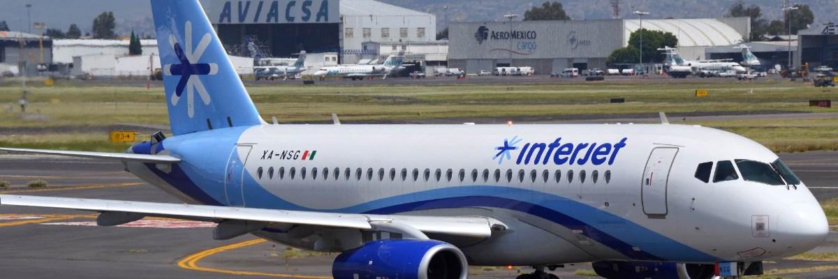 Trabajadores de Interjet afirman que se cancelarían más de 60 vuelos nacionales esta semana