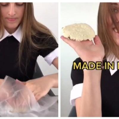 Canadiense se hace viral por su forma de usar máquina para hacer tortillas