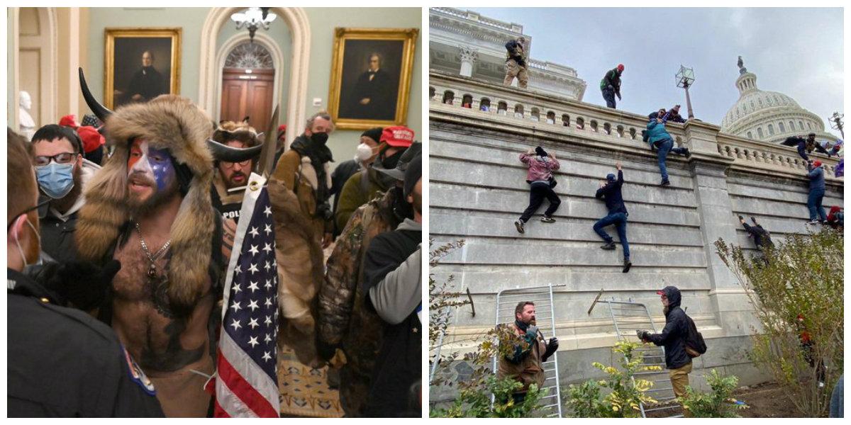 Suspenden certificación de Biden por disturbios de manifestantes de Trump