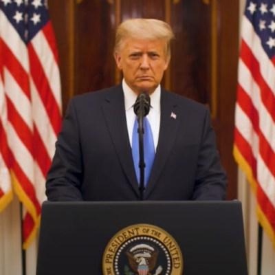 Trump mensaje de despedida