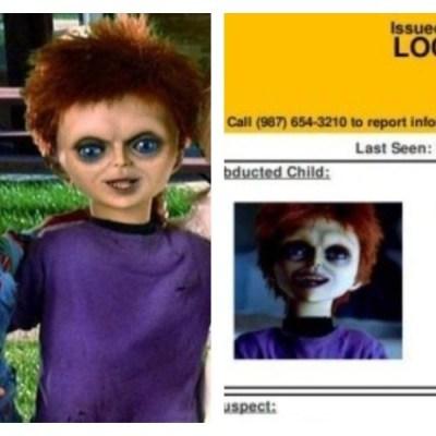 Por error, emiten alerta Amber para encontrar al hijo de Chucky