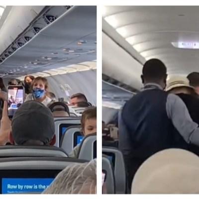 Avión cambia su ruta porque un pasajero se negó a ponerse cubrebocas
