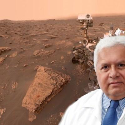 La NASA nombra 'Rafael Navarro' a montaña de Marte en honor a mexicano