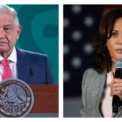 AMLO y Kamala Harris acuerdan combatir el tráfico de personas