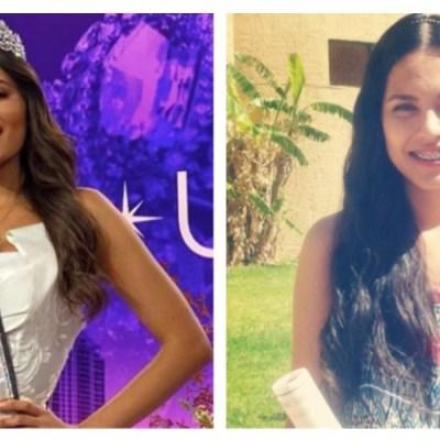 Así lucía Andrea Meza antes de ser Miss Universo