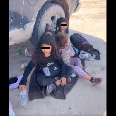 Encuentran a cinco niñas migrantes abandonadas en la frontera de Texas