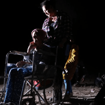 Fallece abuelita de 93 años que cruzó la frontera en silla de ruedas