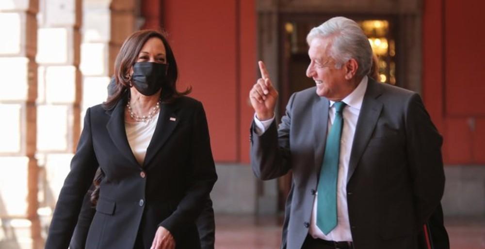 Los 5 acuerdos entre AMLO y Kamala Harris en su visita a México