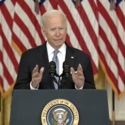 Biden no se arrepiente de la salida de tropas de EU de Afganistán