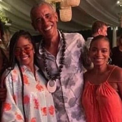 Filtran imágenes de la fiesta de cumpleaños de Barack Obama