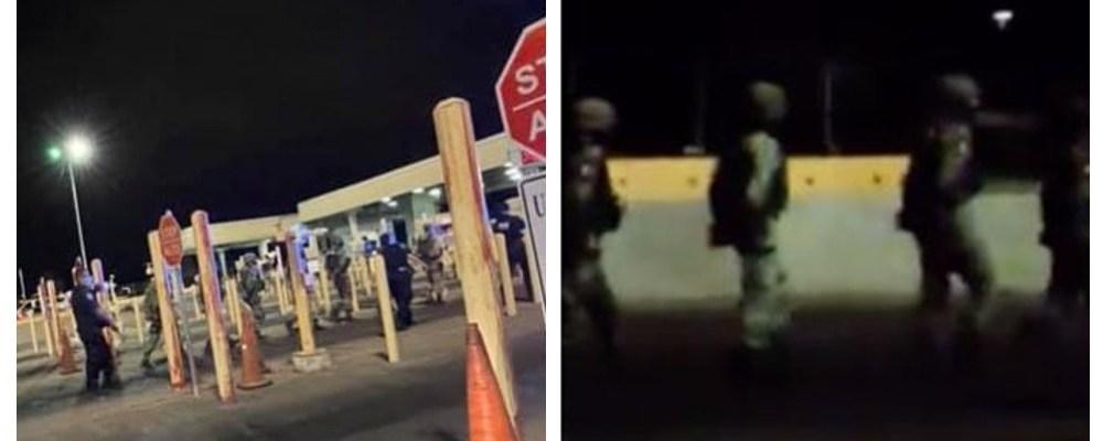 Detienen a soldados mexicanos por cruzar la frontera de EU de forma ilegal