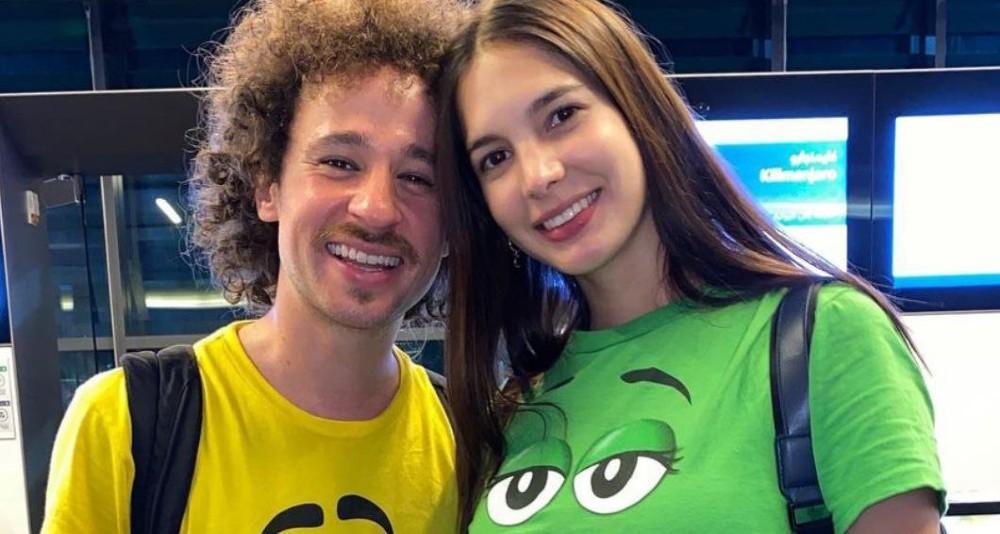 Ella es Arianny, la novia de Luisito Comunica
