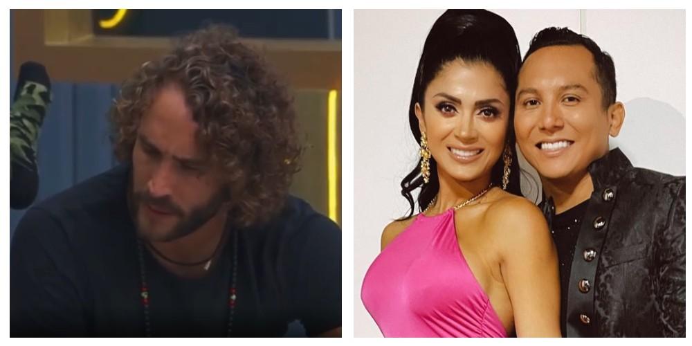 Roberto Romano confiesa que tuvo un encuentro íntimo con Kimberly Flores
