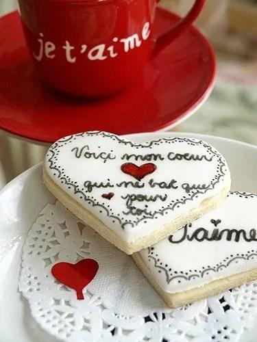 Declaracion amor galletas