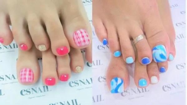 tendencias-unas-pies-rosa-y-azul