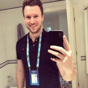 Blogger Benjamin Benny Hertlein