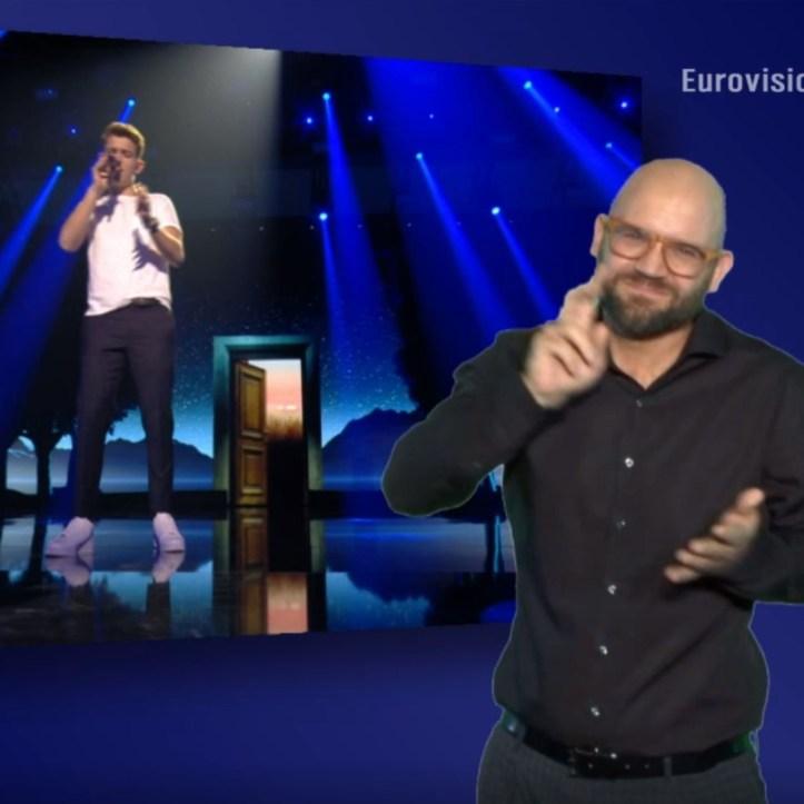Unser Lied für Israel in Gebärdensprache Thorsten Rose Gregor Hägele 2019