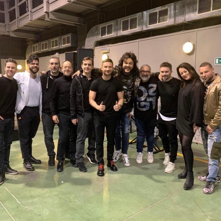 Sergey Lazarev Probe Scream Moskau Eurovision ESC 2019
