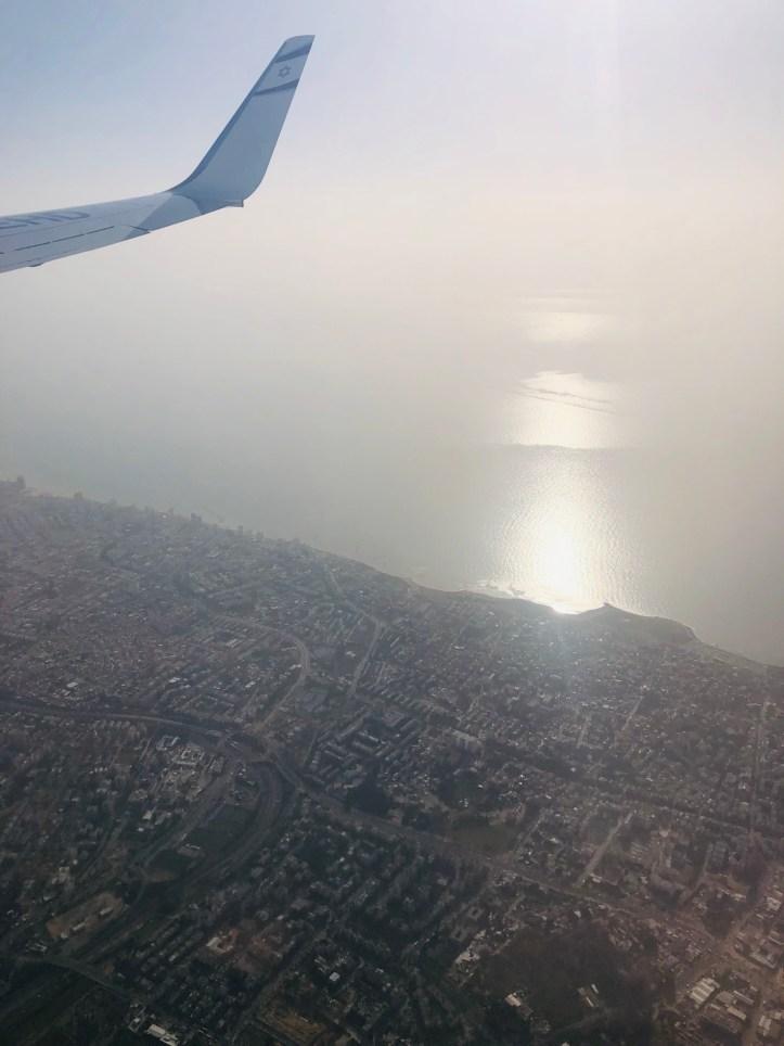 Tel Aviv Calling Flugzeug