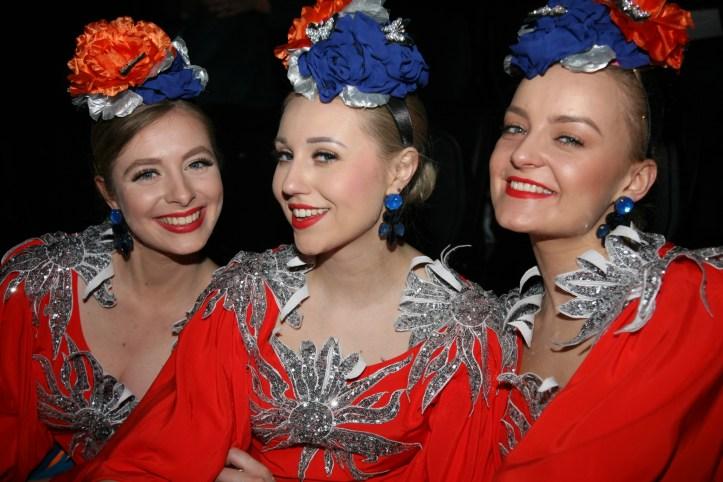EiC 2019 Serie 1 Eurovision in Concert Amsterdam Drei Viertel von Tulia aus Polen backstage