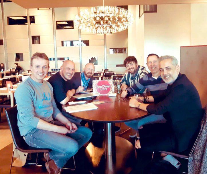 EiC Team 2019 René Erwin Paul Eduard Jeroen Barry