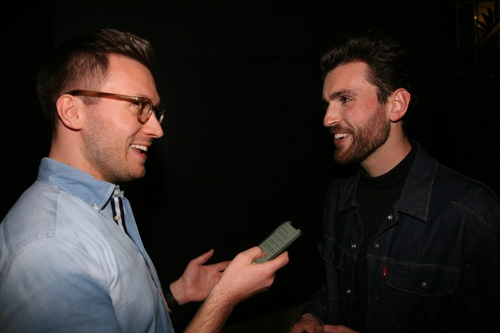 Eic 2019 The Interview Sessions Benjamin befragt Duncan Laurence zur Favoritenrolle 2019