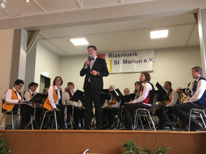 Blasmusik St. Marien Dorsten live on stage