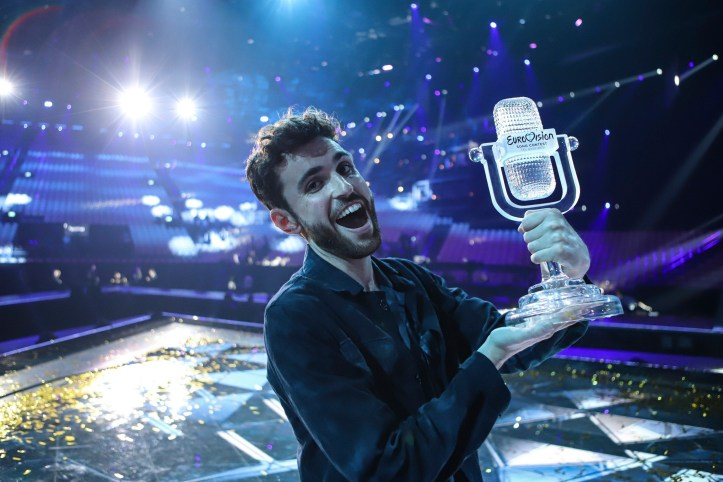 Duncan Laurence ESC 2019 Eurovision Sieger Gewinner Niederlande Arcade 2