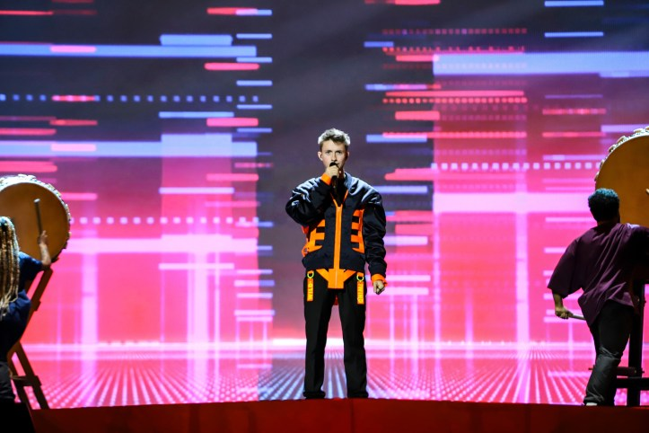Erste Probe Belgien Eliot Wake Up ESC 2019 3