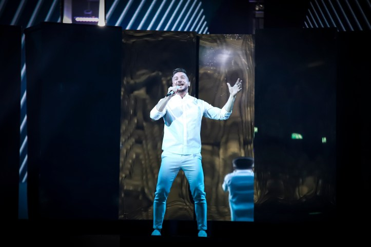 Erste Probe Russland Sergey Lazarev Scream ESC 2019 5