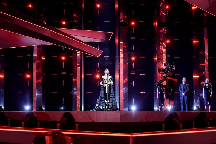 Zweite Probe Albanien Jonida Maliqi Ktheju Tokes ESC 2019 2