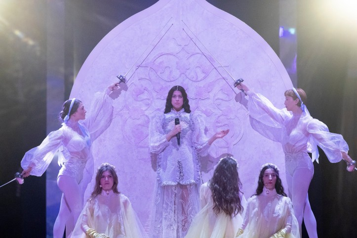 Zweite Probe Griechenland Katerine Duska Better Love ESC 2019 4