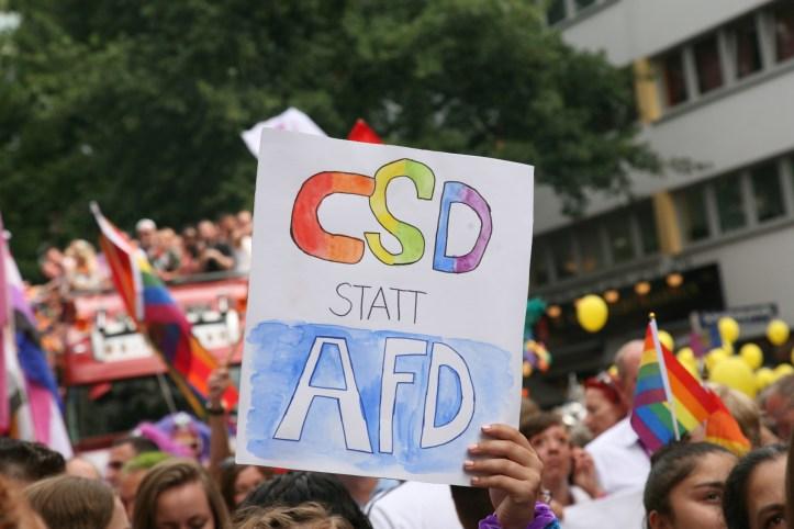 CSD Hamburg 2019 CSD statt AFD