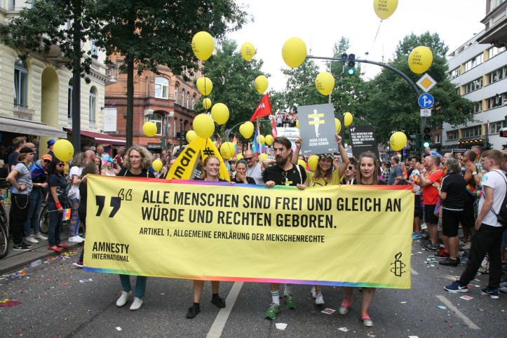 Encore CSD Hamburg 2019 Die schoensten Photos für ESC kompakt Amnesty International