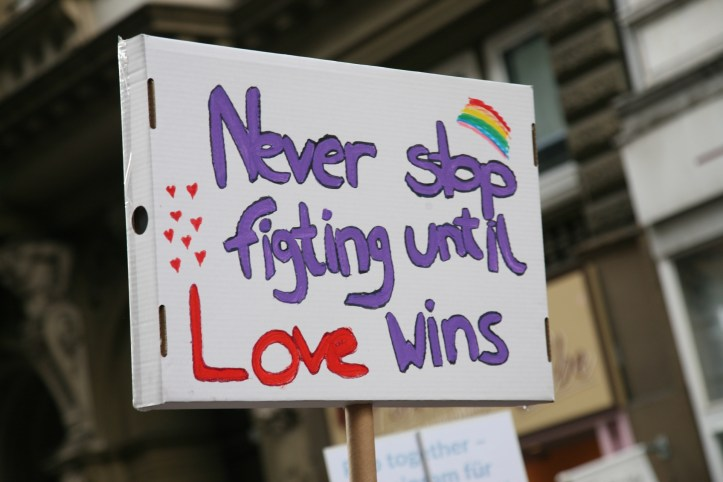 Encore CSD Hamburg 2019 Die schoensten Photos für ESC kompakt Never stop fighting until love wins